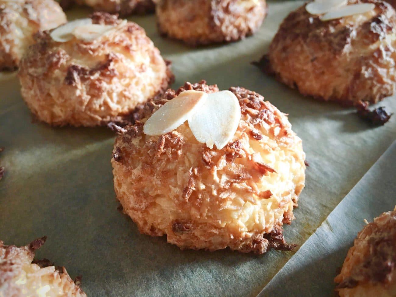 Kokosanki bez mąki i cukru