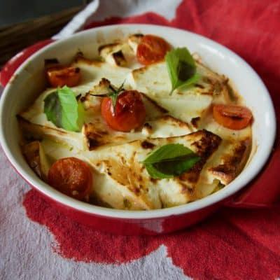 Feta zapiekana z pomidorami