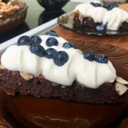 Ciasto czekoladowe - keto brownie bez cukru