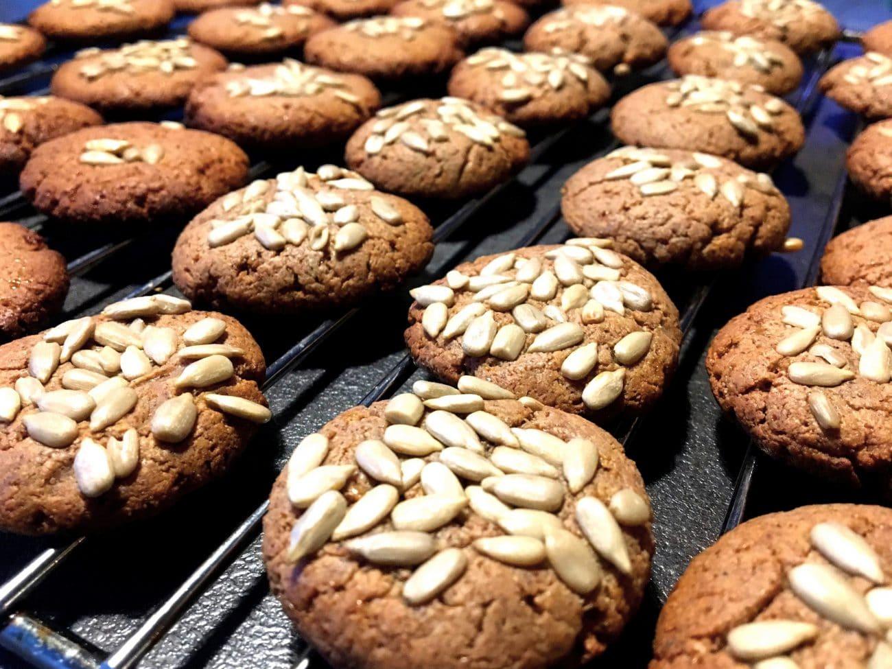 Ciasteczka orzechowe bez mąki i cukru