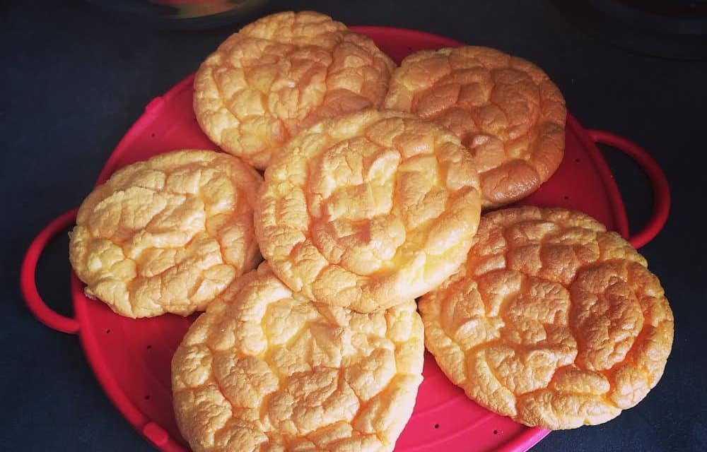 "Oopsie bread – chlebek ""chmurka"""