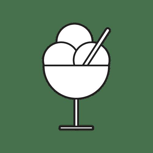 Ketogeniczne lody bez cukru