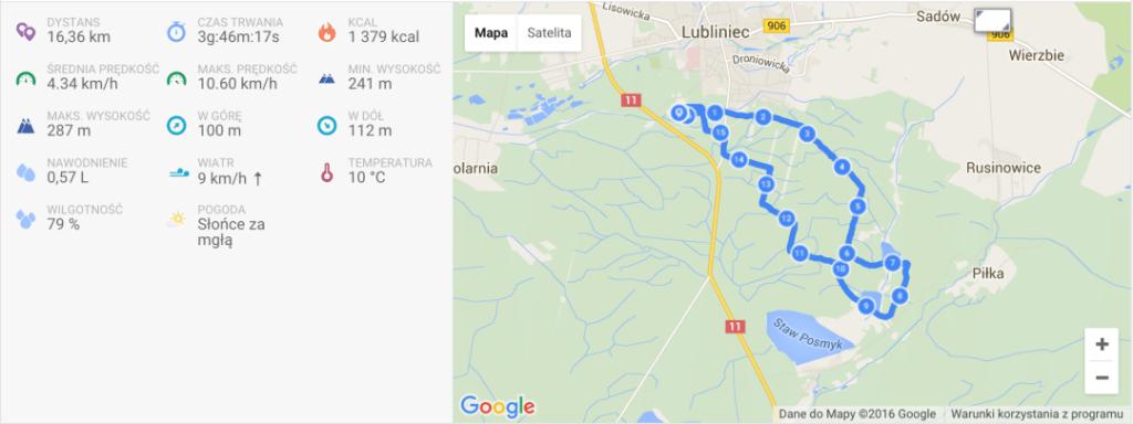 Dogtrekking, czyli radość (nie tylko) dla psiaka - Lubliniec, 16.04.2016 3