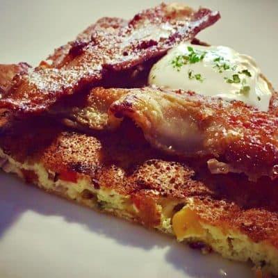 Ketogeniczny omlet na słono