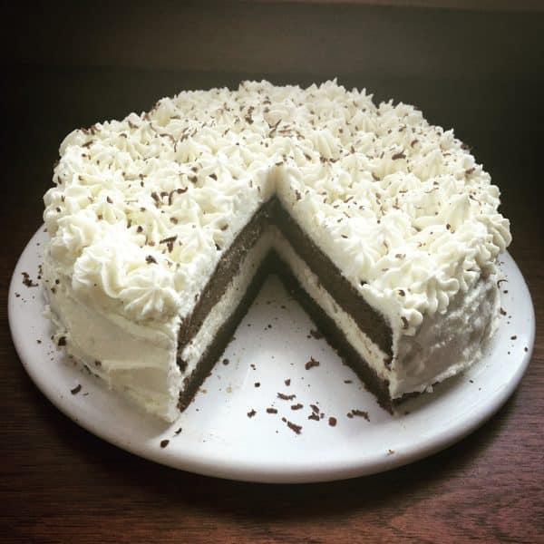 Tort czekoladowy bez cukru