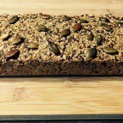 NiskowÄ™glowodanowy chleb z ziarnami (keto chleb)