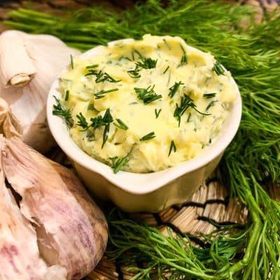 Masło czosnkowe 1
