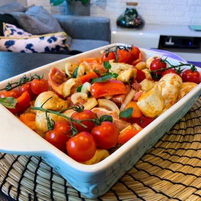 Karkówka pieczona z warzywami 1