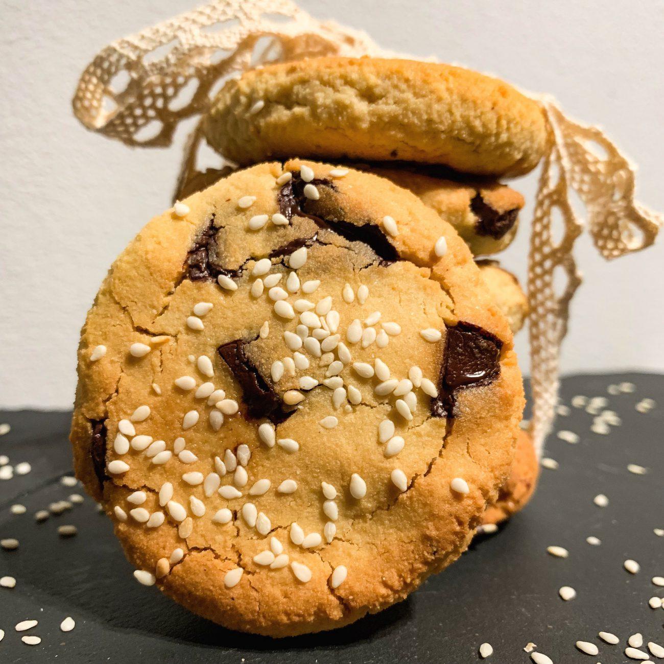 Ciasteczka chałwowe