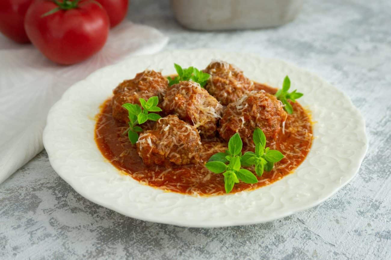 Marinara Meatballs, czyli kulki mięsne w sosie pomidorowym